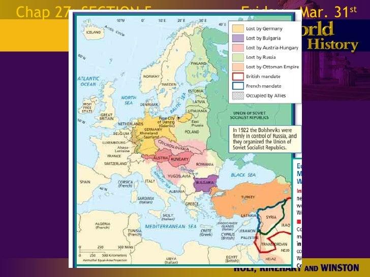 World War 1 Chapter 27 Slides