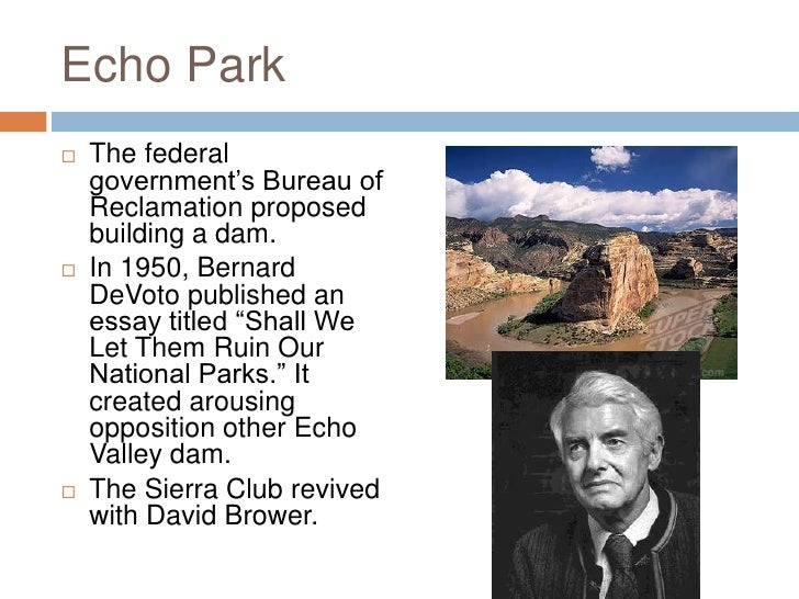 "david brower and the sierra club essay In this essay, i argue that  sierra club records, ""letter from david brower to john b elliott  sierra club records, ""memo from david brower to nathan c."