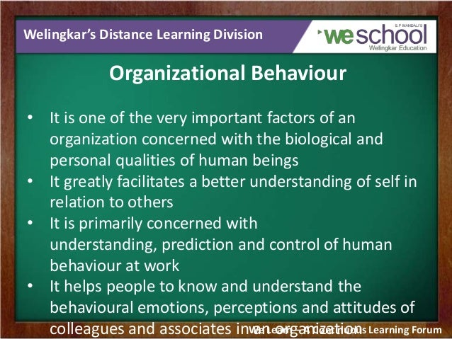 organizational behaviour learnings Organizational behaviour learnings from the games played presented by : chittimalli akhilesh, pgdma 1604 win as much as we can win as much as you can.