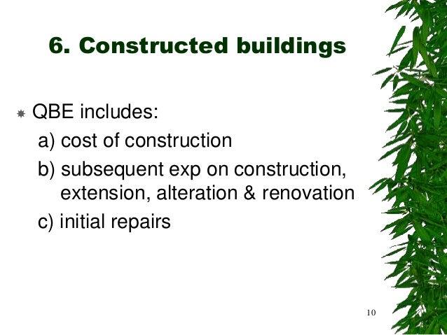 Chapter 2a Industrial Building Allowances