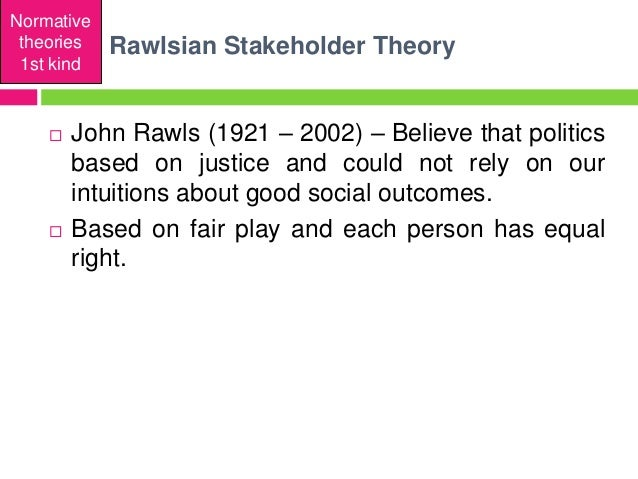 stakeholder and social contract theories Stakeholder interest to consider the interests of all stakeholders,  ____ john locke and jean jacques rousseau would support the social contract theory of .