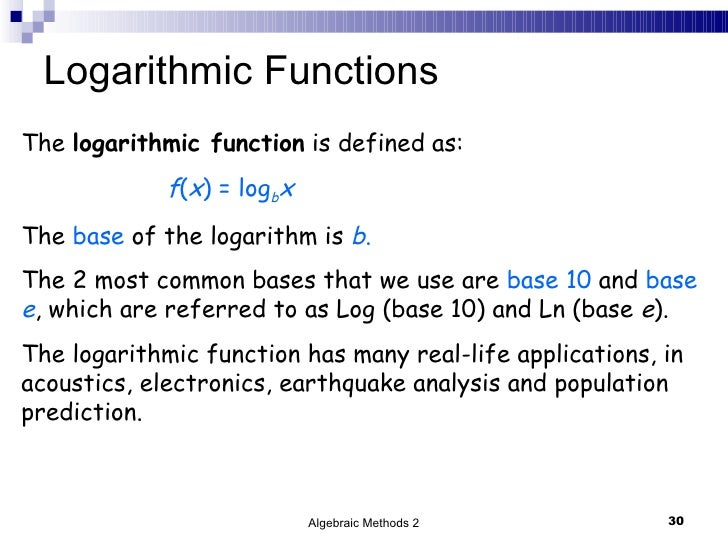 How Are Logarithms Used in Everyday Life?