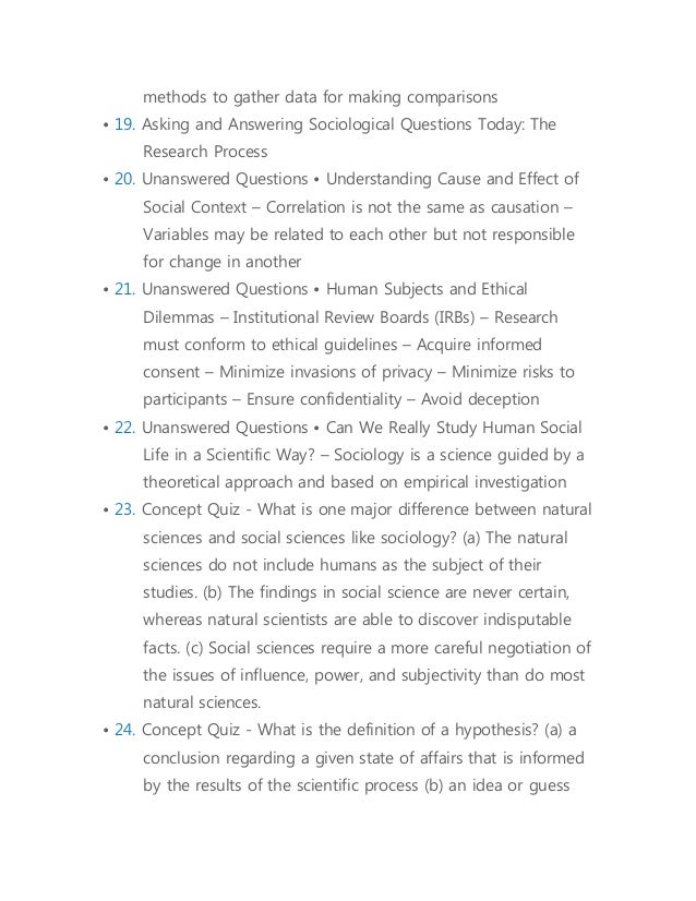 What kind of questions do sociologists ask?