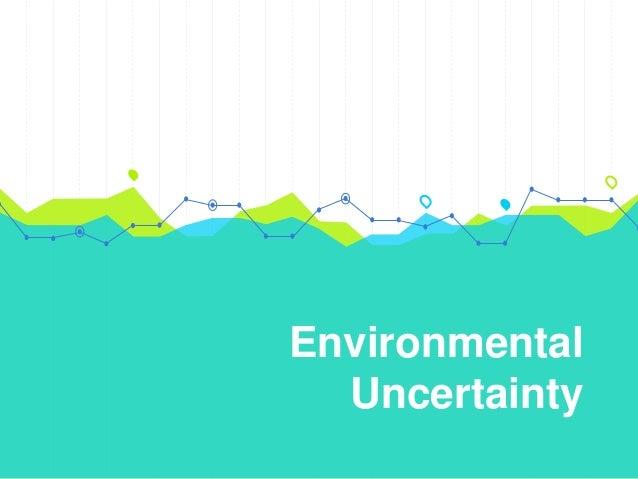 define environmental uncertainty