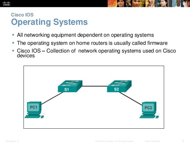 CCNAv5 - S1: Chapter 2 - Configuring a network operating system