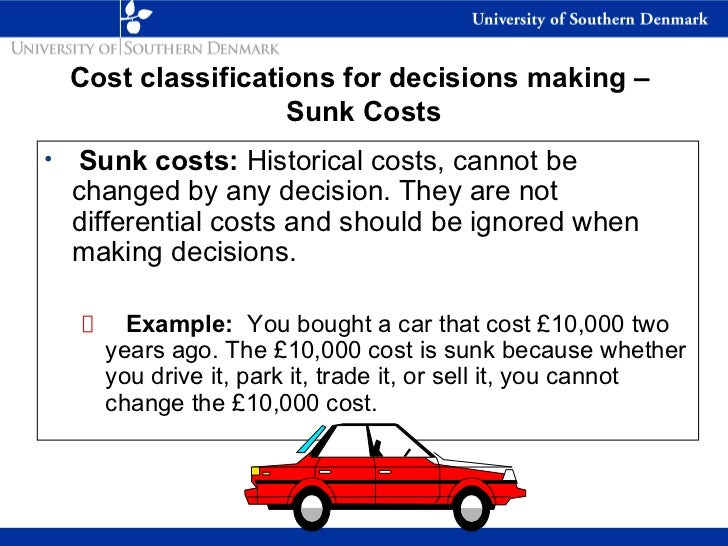 cost terms concepts and classifications pdf