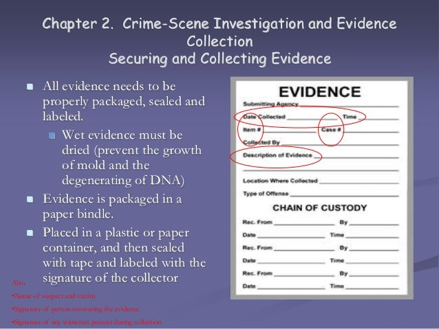 17 chapter 2 crime scene investigation - Description Of A Crime Scene Investigator
