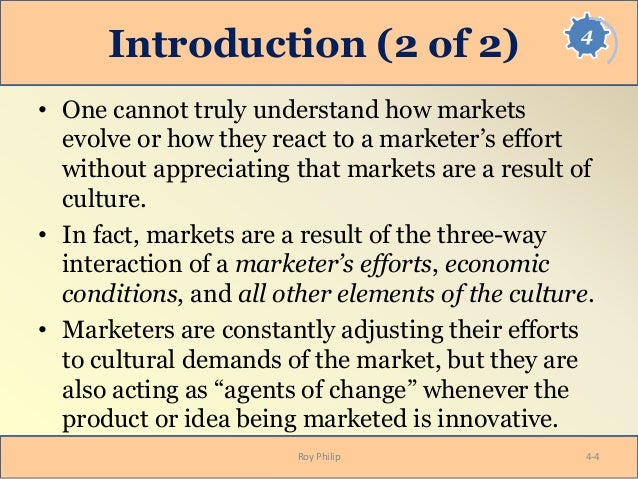 cultural dynamics in assessing global markets Table of contents book preface about the authors pageout: chapter 3: history and geography: the foundations of culture chapter 4: cultural dynamics in assessing global markets chapter 5: culture, management style, and business systems.