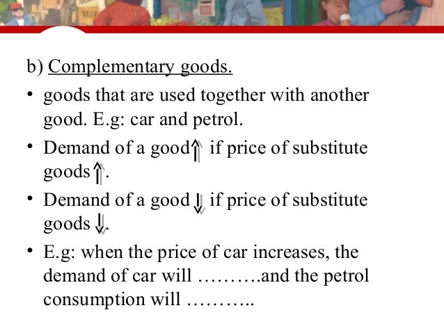 substitute goods Definition of substitute goods - two alternative goods that could be used for the same purpose cross elasticity of demand for substitutes examples and s+d diagrams.