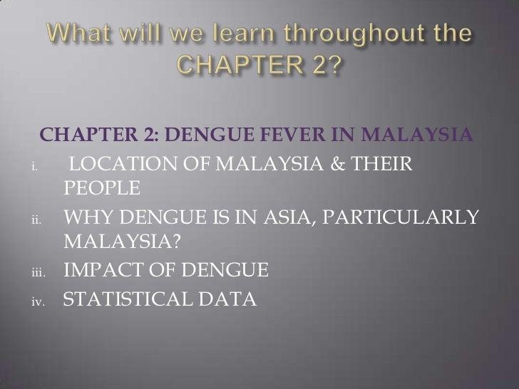 Dengue fever in malaysia