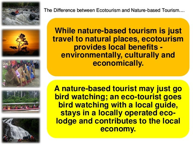 ISSUES OF ECOTOURISM INDUSTRY