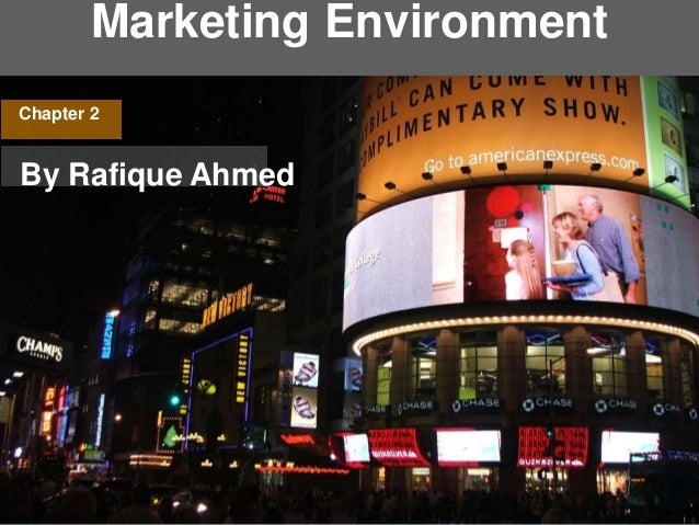Marketing Environment Chapter 2 By Rafique Ahmed