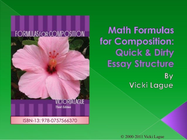 © 2000-2011 Vicki Lague ISBN-13: 978-0757566370