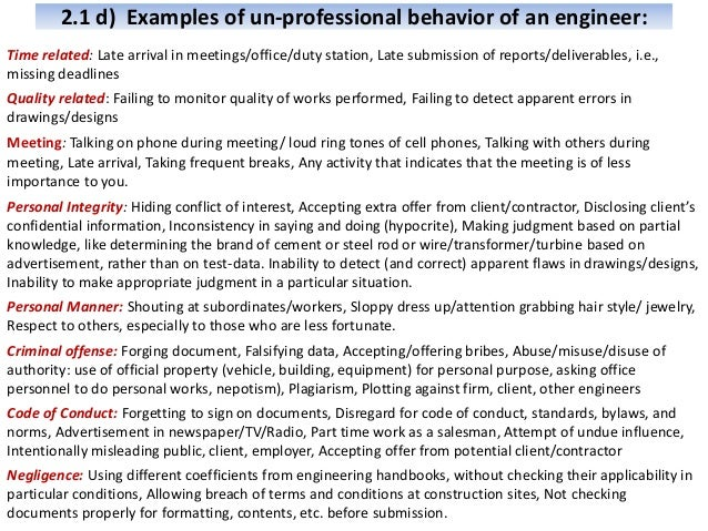 Engineering Professional Practice Chapter 2 Ethics and Professionalis…