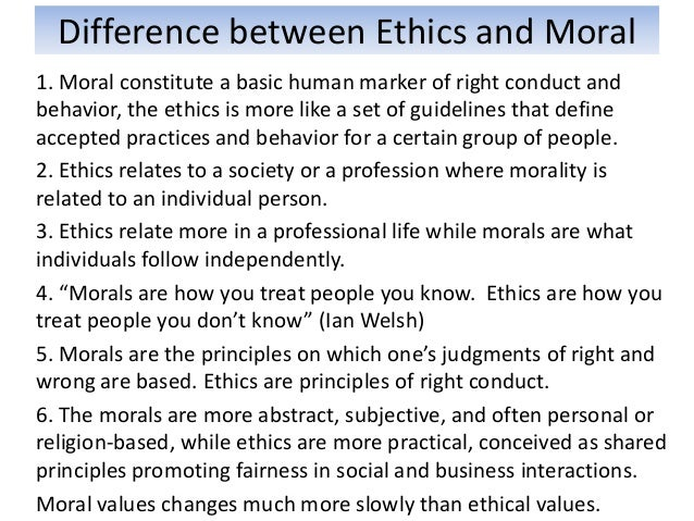The Moral Differences Between Pro And >> Chapter 2 Ethics And Professionalism