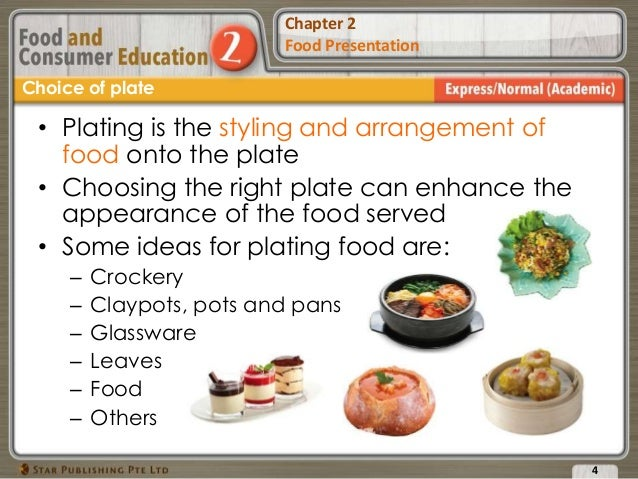 Chapter 2 Food Presentation