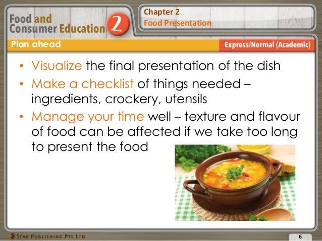 chapter 2 food presentation