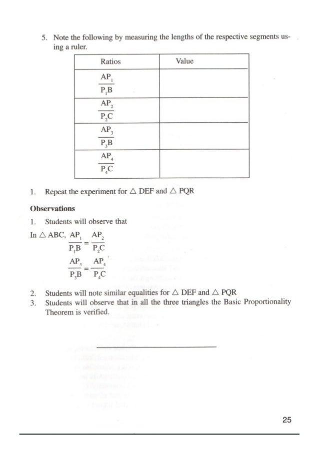 Maths Lab Manual Class 10 Pdf