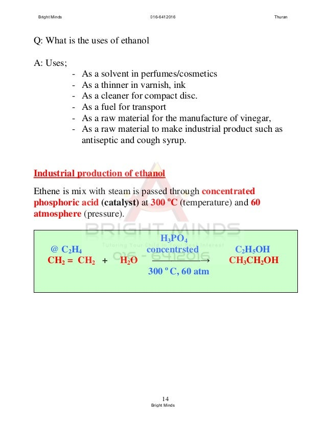 Enthalpy change of combustion coursework