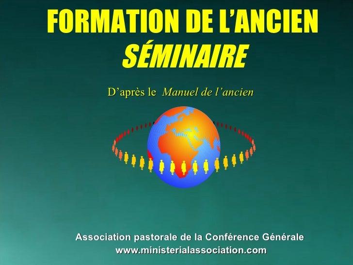 <ul><li>Association pastorale de la Conférence Générale   </li></ul><ul><li>www.ministerialassociation.com </li></ul>D'apr...