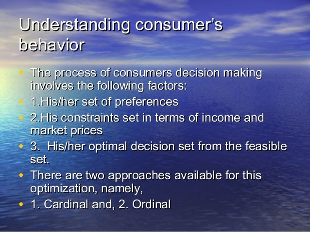 Chapter 2 Law Of Diminshing Marginal Utility