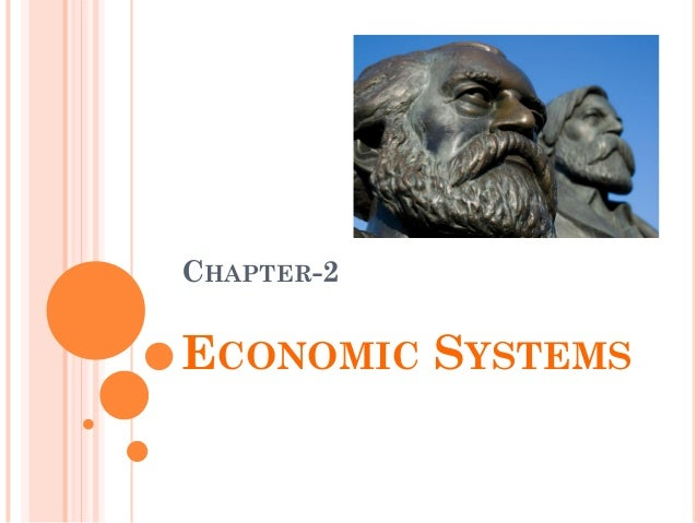 CHAPTER-2 ECONOMIC SYSTEMS