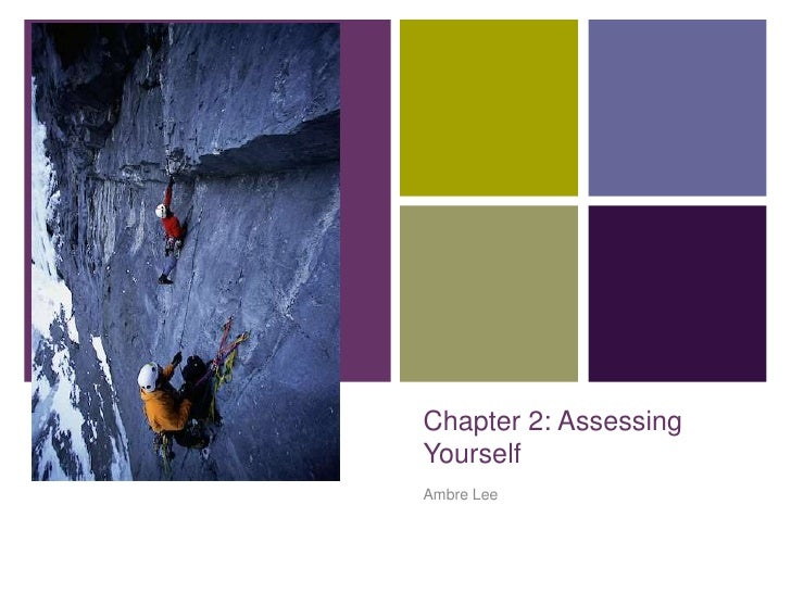 Chapter 2: Assessing Yourself<br />Ambre Lee<br />