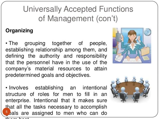 5 management principles and concepts Henri fayol's 14 principles of management henri fayol's principles of management but at the time they were revolutionary concepts for organizational management.