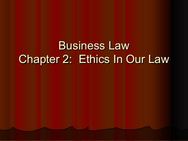 business law chapters 1 3