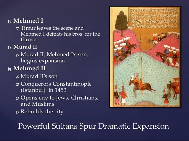 Chapter 2 The Muslim World Expands