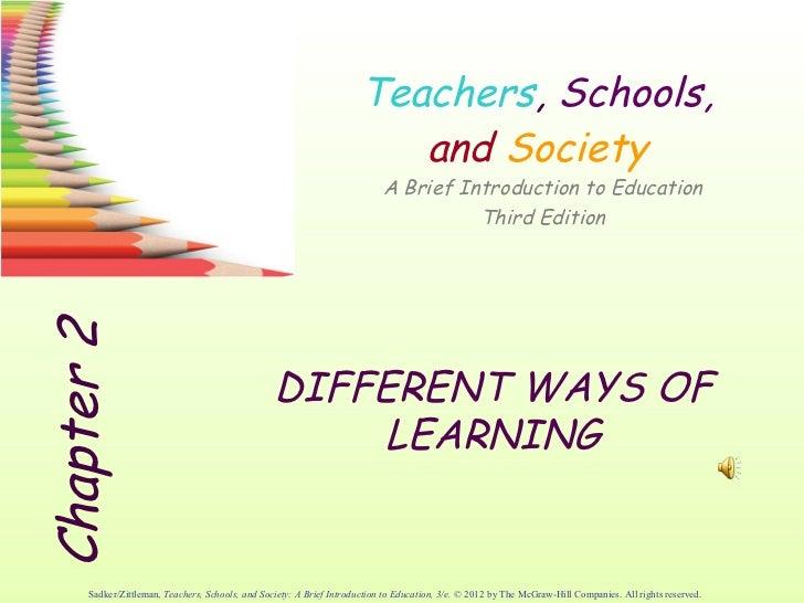 2.1                                                                        Teachers, Schools,                             ...