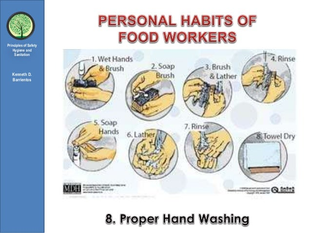 Personal Habits Of Food Service Worker