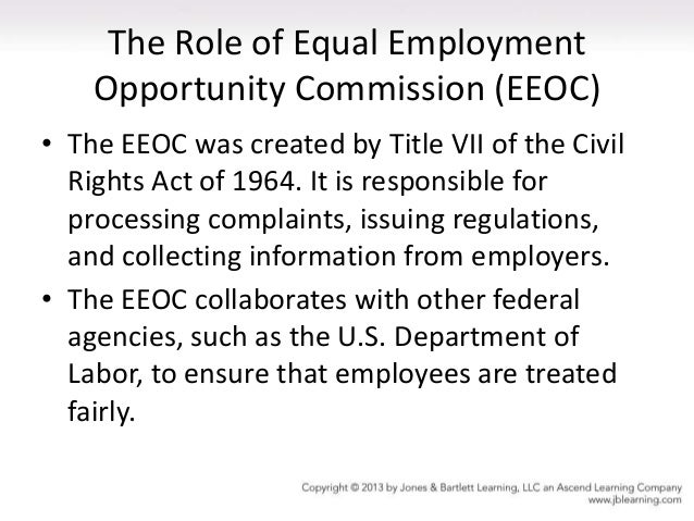 federal equal employment opportunity commission guidelines