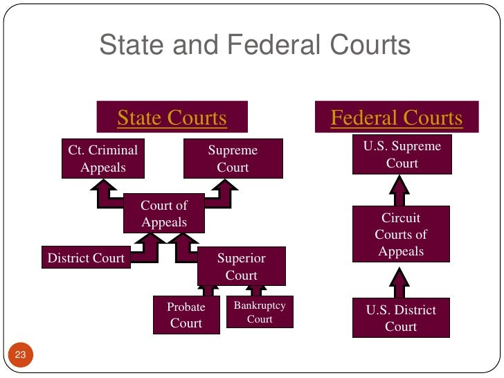 state and federal systems of government