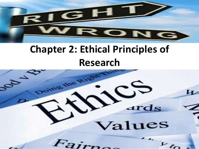 ethical principles for research 2018-6-14  read chapter 3 justice in clinical studies: guiding principles: in the nineteenth century some scientists argued that women should not be.