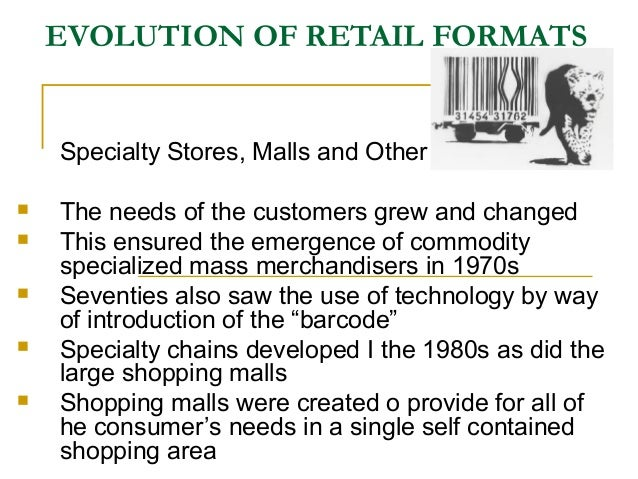 chapter 2 retail formats Cite this chapter as: morbe l (2018) study 2: an inter- and intra-format perspective on transfer and perception of retail formats in.