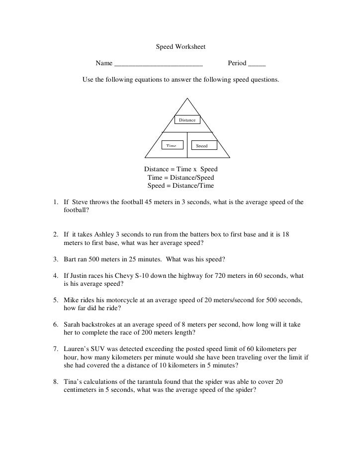 Velocity Worksheets Sharebrowse – Speed and Velocity Worksheet