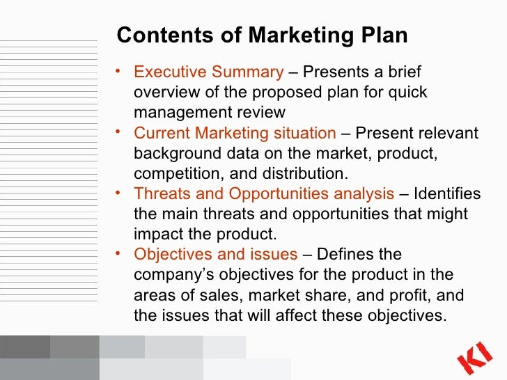 contents of a marketing plan The best table of contents of a marketing plan free download our plans taken from past issues of our magazine include detailed instructions cut lists and.