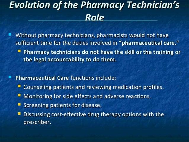 Chapter 2 the pharmacy technician