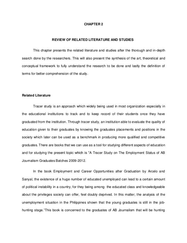 Review Of Related Literature And Studies Sample Thesis - Thesis Title Ideas  For College