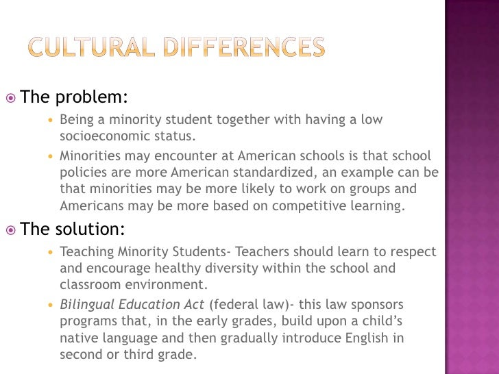 three specific issues involving linguistic diversity in early childhood education Nearly three-fourths of young children in the united states are involved in some sort of early childhood education some groups of children have higher rates of participation in early childhood education programs than others.