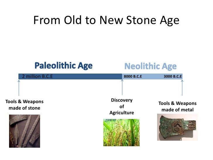 old and new stone age