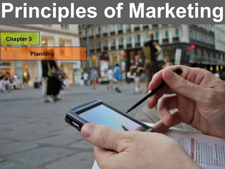 Principles of Marketing Chapter 3 Planning