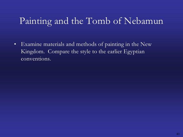 comparing toreador fresco fowling scene art Art history 301 exam 1 from paleolithic,  fowling scene of nebamun,  toreador fresco (bull-leaping scene),.