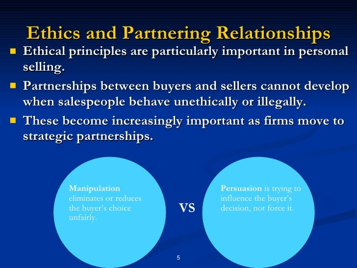 "5 principles of personal selling Principle of personal selling 1 chapter 02 principles of personal selling 2 selling is only the tip of the iceberg "" there will always be need for some selling."