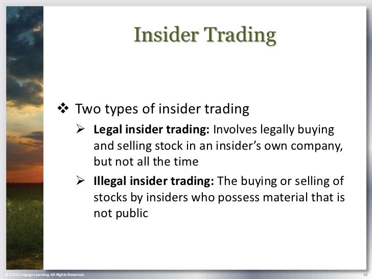 the unethical business implications of insider trading Insider trading is the illegal act of would see unethical is that despite the fact 09/22/business/dealbook/leon-cooperman-insider.