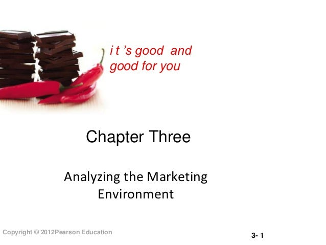 i t 's good and                                good for you                         Chapter Three                  Analyzi...