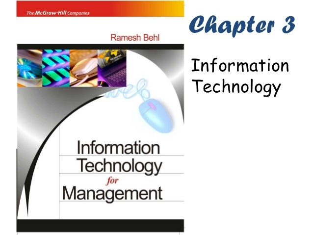 Chapter 3InformationTechnology