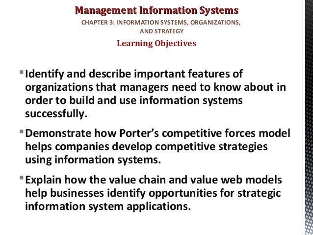 mis chapter 2 competing with information Chapter 2 (competing with information technology) tujuan pembelajaran: dapat mengidentifikasi strategi kompetitif dasar dan menjelaskan bagaimana bisnis bisa.