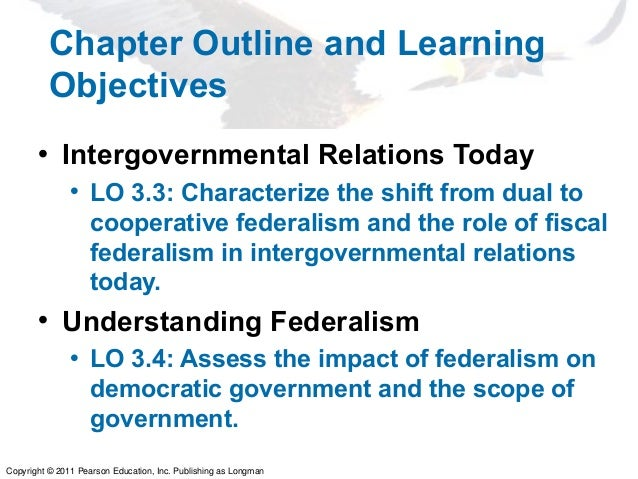 an overview of the power shift in intergovernmental relations as a result of fiscal federalism Chapter three: federalism and intergovernmental relations  federalism and intergovernmental relations  the nature of federalism constitutional division of governmental power  intergovernmental fiscal relations.